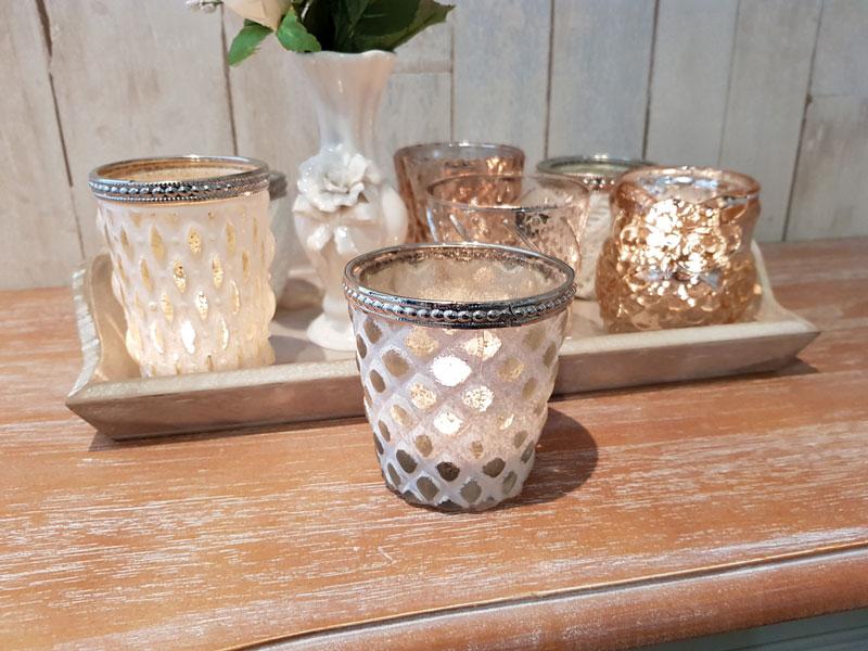 Teelichthalter Windlicht Vintage Design F