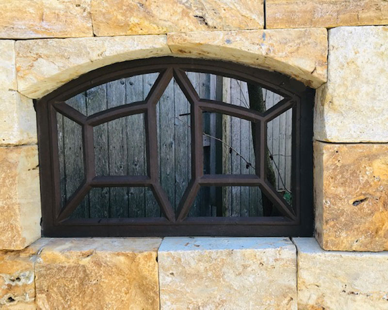Gussfenster Gartenruine