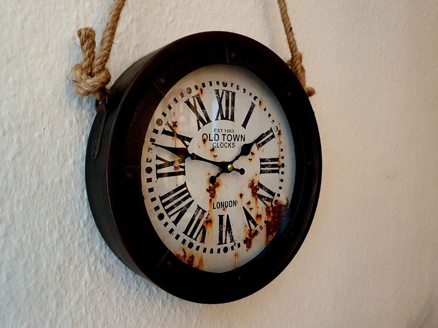 """Schiffsuhr """"Old Town Clocks London"""" Ø27cm"""